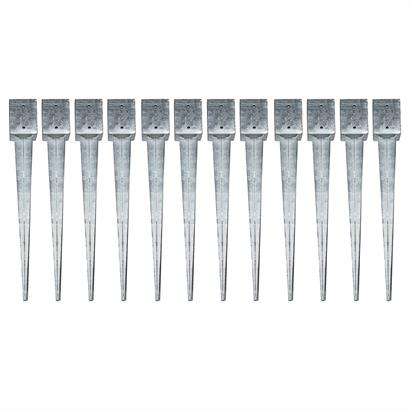 Einschlaghülsen Vierkant 101x101x750 mm 12x