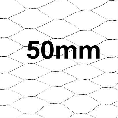 Zaunset Sechseckgeflecht Zaun Draht 1,00 x 25 m Komplett-Set Drahtzaun 50 mm