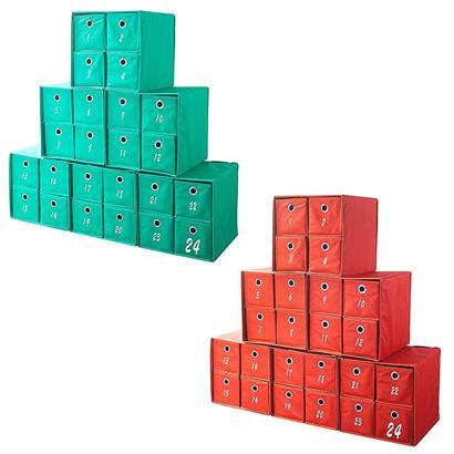 Aufbewahrungsbox Stoff 6er Set