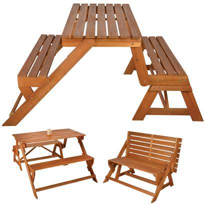Gartenbank Akazienholz Esschert Design