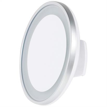 Kosmetikspiegel mit 5fach-Vergrößerung