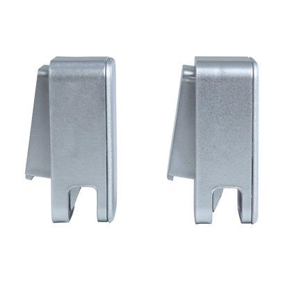 Handtuchhaken Handtuchhalter Klebehaken Badezimmer-Handtuchhaken 2er Set silber