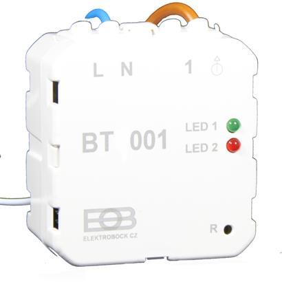 Unterputz Funk-Empfänger BT 001 für Funk-Thermostat Infrarotheizung