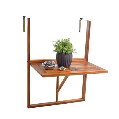 Balkontisch Hängetisch Balkonhängetisch Klappbar Klapptisch Balkon Tisch Holz