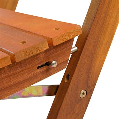 Balkonmöbel Set Holzmöbel 3-teilig Balkonset Gartenmöbel Balkontisch klappbar