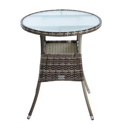 Polyrattan Gartenmöbel Set Gartenset Sitzgruppe Rattan Essgruppe Sessel Beige