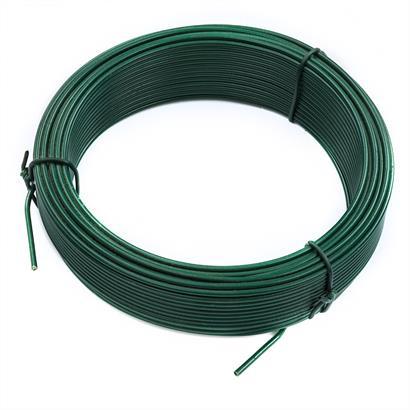 Bindedraht 2,0 mm verzinkt, anthrazit grün