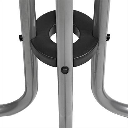 Stehtisch höhenverstellbar aus Metall Ø 70 cm