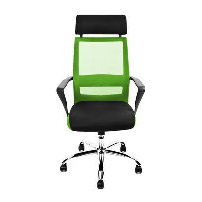 Bürostuhl mit Netzbespannung zweifarbig