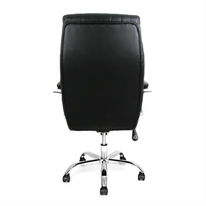 Design Bürostuhl schwarz-silber