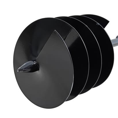 Erdlochbohrer Erdbohrer Handbohrer 200 mm Bohrer Pfahlbohrer Brunnenbohrer