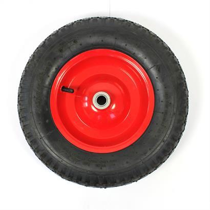 Ersatz-Rad Achse 4.80/4.00-8 Ø400 mit oder ohne Achse
