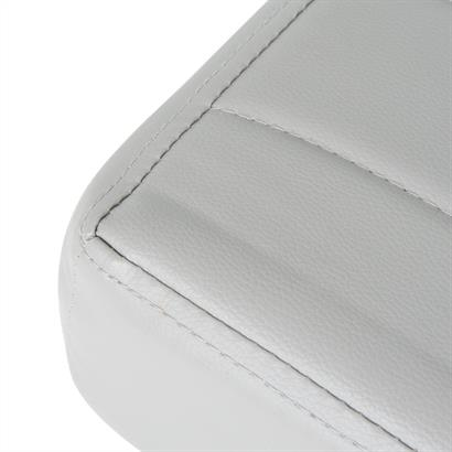 Sitzbank gepolstert grau