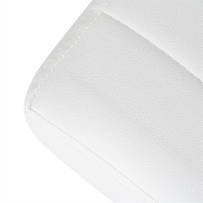 Sitzbank gepolstert weiß