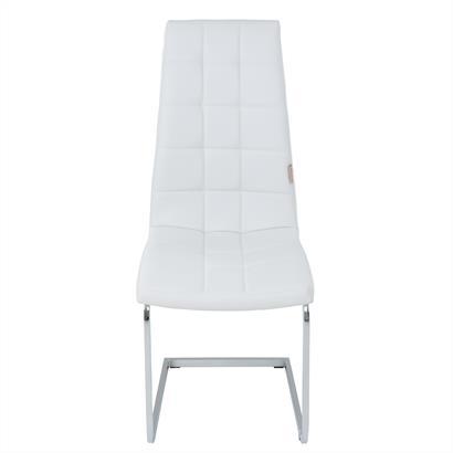 Freischwinger Esszimmerstühle Kunstleder 2er