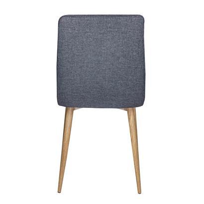 Esszimmerstühle mit Stoffbezug 2er