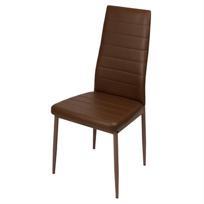 Esszimmerstühle Kunstlederbezug 2er