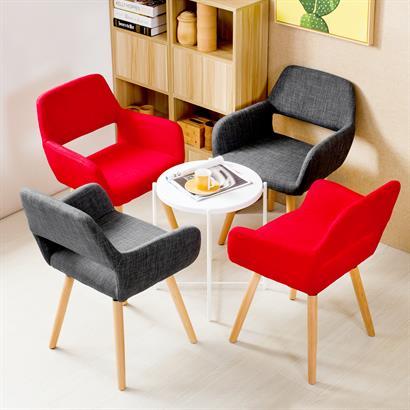 Retro Esszimmerstühle mit Armlehne 2er