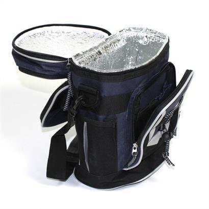 Fahrradtasche Kühltasche 2-Zonen