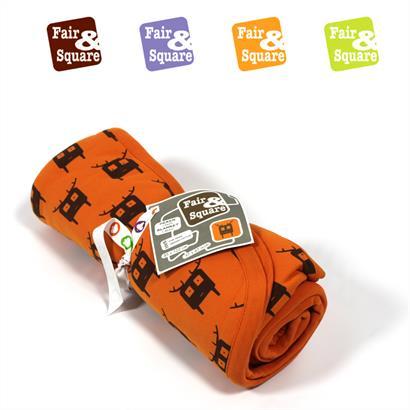 Fair & Square Babydecke Bio Baumwolle mit Motiv