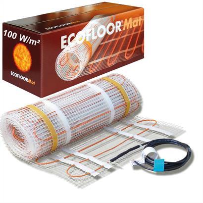 ECOFLOOR® Fußbodenheizung elektrisch 100 Watt/m² Steinböden