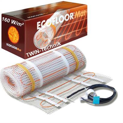 ECOFLOOR® Fußbodenheizung elektrisch 160 Watt/m² Steinböden