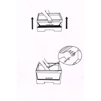 Fietsklik Crate Fahrradkorb & Klik Basismodul im Set