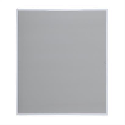 Fliegengitter für Fenster, mit Alurahmen weiß 130 x 150 cm
