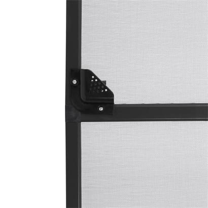 Fliegengitter Tür mit Alurahmen