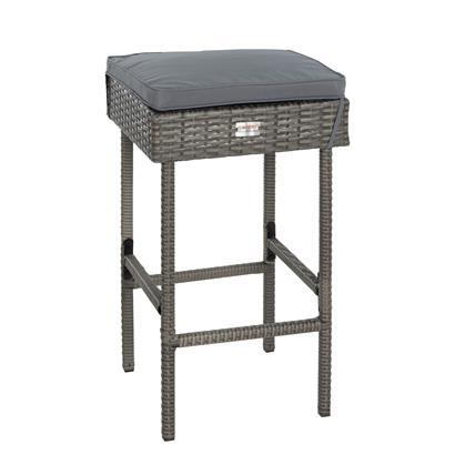 Polyrattan Gartenbar Set Gartenmöbel Sitzgruppe Rattan Bar Tresen Theke Tisch