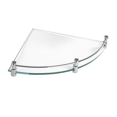GEESA Eck Badablage Glas