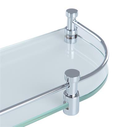 Glas Badablage 50 cm GEESA