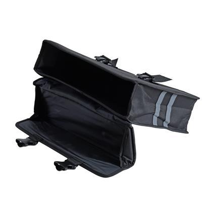 Fahrradtasche Gepäckträgertasche Seitentasche Gepäcktasche Fahrrad Schwarz