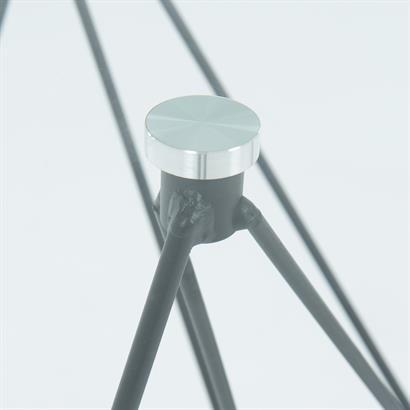 Designer Glastisch