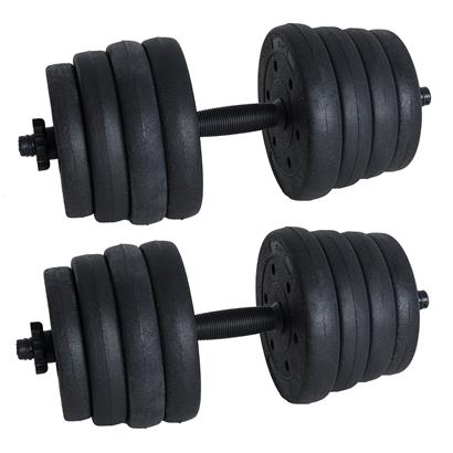 Hantelset 30kg Hantel Kurzhantel Set Krafttraining Hantelscheiben Muskeltraining