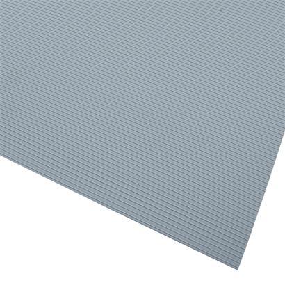 Hart PVC Sichtschutzstreifen 10er Set Doppelstabmatten Zaunblende Grau RAL7040