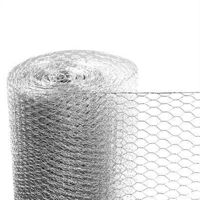 Sechseckgeflecht Maschendraht verzinkt 0,6 mm