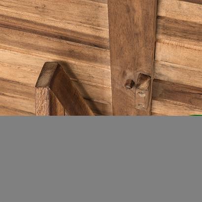 Balkonhängetisch klappbar Akazienholz