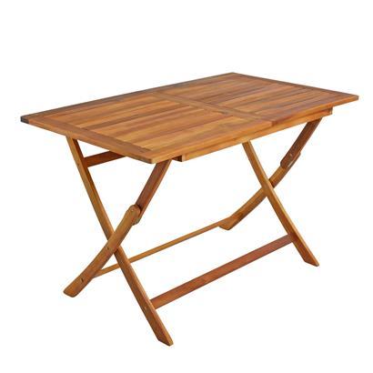 Holz Balkonmöbel Set klappbar, 5-teilig