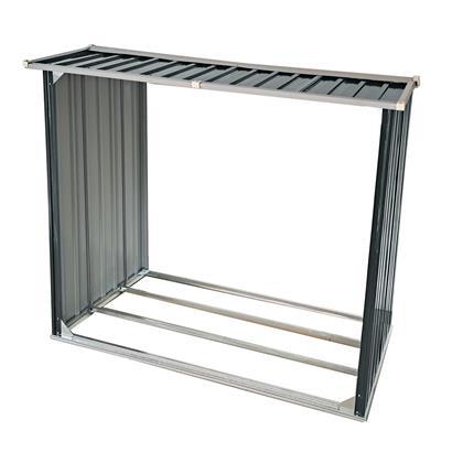 Brennholzunterstand Brennholz Holz Regal 172x91x154 cm Lager Unterstand Metall