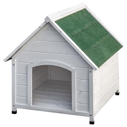 XXL Hundehütte weiß oder grau