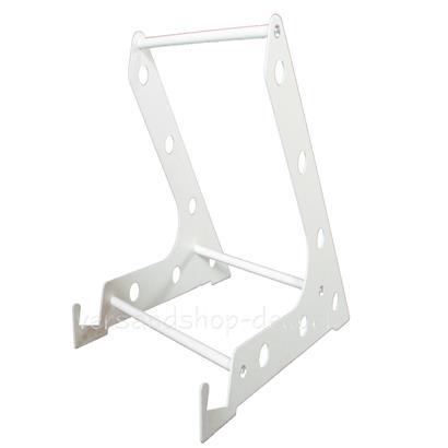 Metall Standfüße für Infrarotheizung weiß
