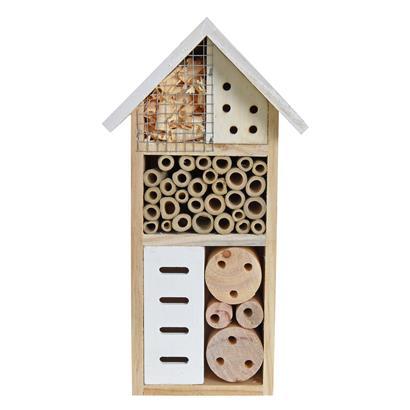 Insektenhotel Insektenhaus 2er Set 26x13x8,5 cm Nistkasten Brutkasten Bienen