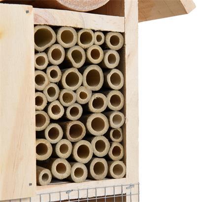 XXL Insektenhotel Insektenhaus 48x31x10 cm Nistkasten Brutkasten Bienen Insekten