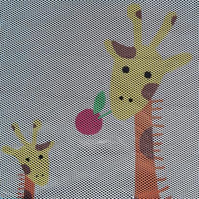 Kinderreisebett Giraffe