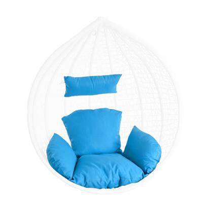 Kissen Sitzkissen Rückenkissen für Hängesessel Sitzpolster Auflage Rückenpolster