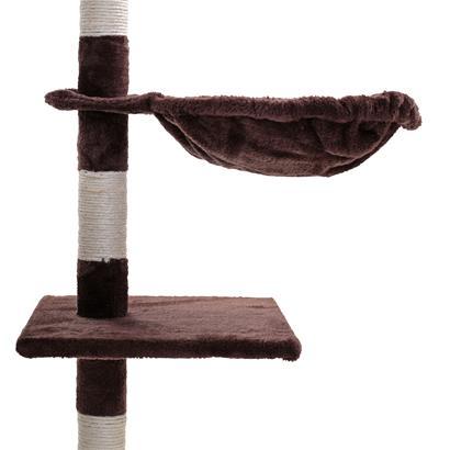 Kratzbaum Katzenbaum Katzenkratzbaum 138 cm XXL Kletterbaum Spielbaum für Katzen
