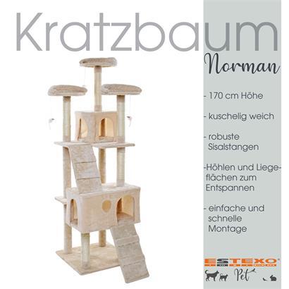 Kratzbaum Katzenbaum Katzenkratzbaum Kletterbaum Spielbaum für Katzen 170 cm XXL