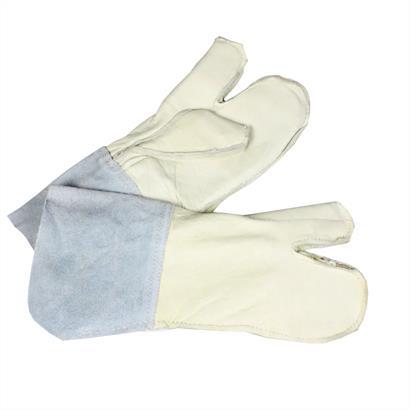 Schutzhandschuhe Leder für Stacheldrahtmontage