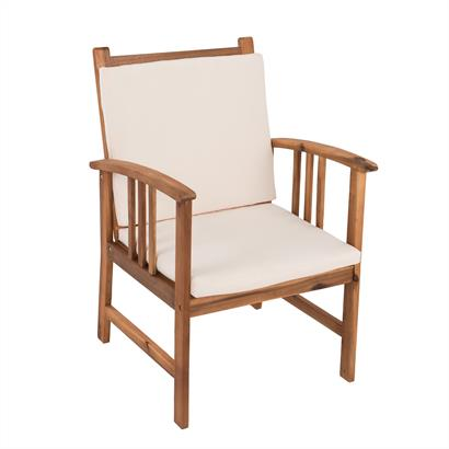Lounge Sitzgruppe Akazienholz